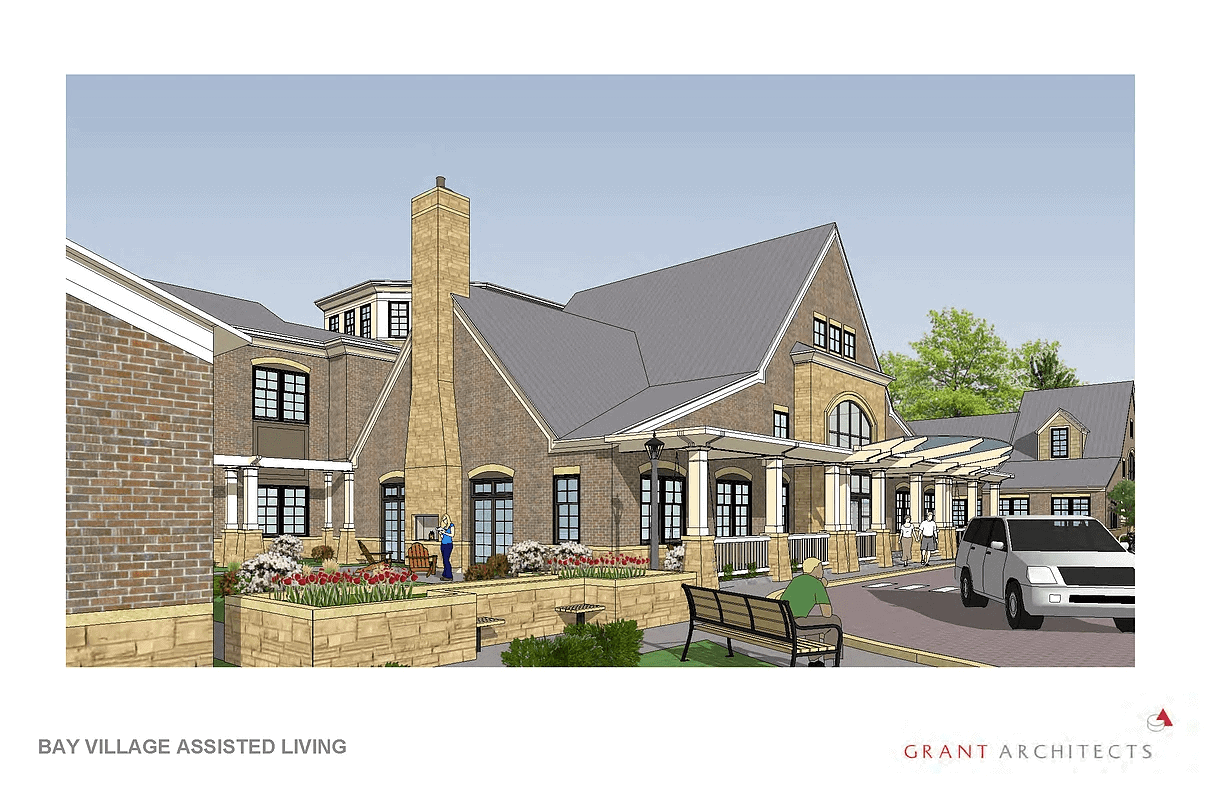Annapolis Bay Village Assisted Living Front Entrance