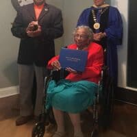 Candle Light Cove senior earns honorary degree at age 97