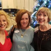 Left to Right: Annamarie Mariani-Huehn , Executive Director, Hunters Woods at Trails Edge; Eileen Spata, Regional Director of TAD Relocation; Mary Ellen Knecht, RN, the Director of Community Relations for the Hunters Woods at Trails Edge Medical Team