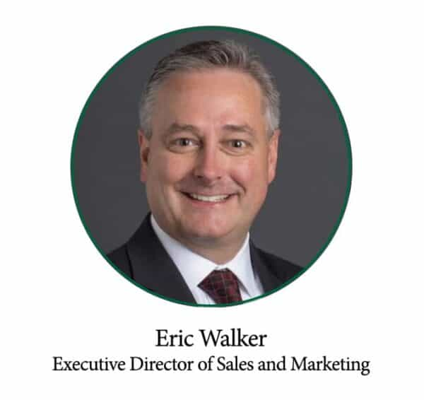 Eric Walker, Executive Director of Sales and Marketing